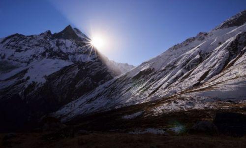 Zdjecie NEPAL / Centralny Nepal / Annapurna Base Camp / Machapuchare