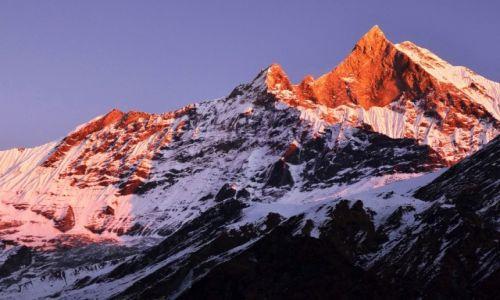 Zdjecie NEPAL / Centralny Nepal / Okolice Pokhary / Machhapuchhare