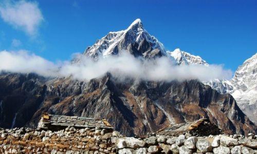 NEPAL / Himalaje Khumbu / Taboche Peak / Taboche Peak