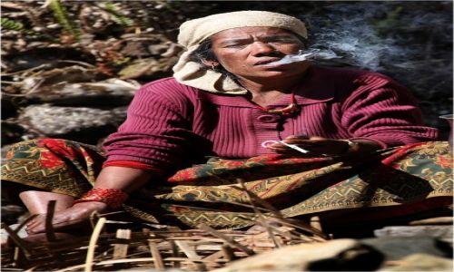 NEPAL / Annapurna / na szlaku / Pauza na chmurkę