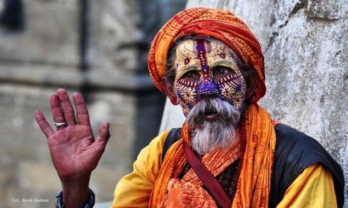 Zdjecie NEPAL / Dolina Kathmandu / Pashupatinath / Sadhu