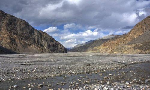 Zdjecie NEPAL / Gandaki / Okolica Jomsom / Dolina rzeki Kali Gandaki