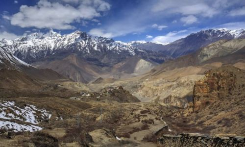 NEPAL / Gandaki / Jharkot / Jharkot