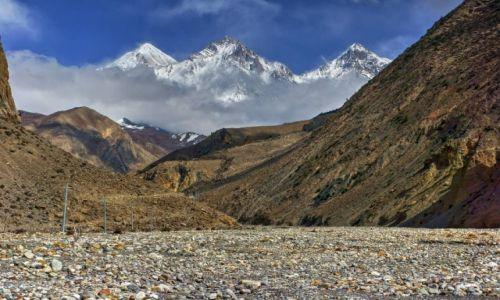 NEPAL / Gandaki / Okolica Jomsom / W Dolinie Kali Gandaki