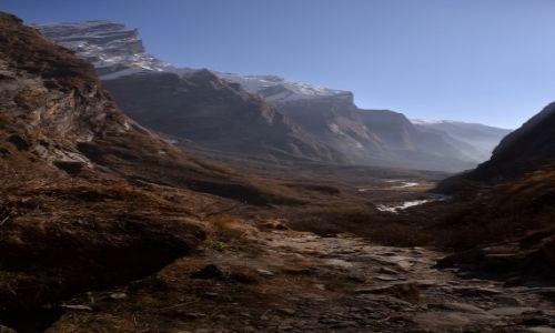 NEPAL / Centralny Nepal  / Annapurna Region / Droga do Machhapuchhare Base Camp