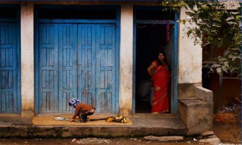 Zdjecie NEPAL / Centralny Nepal / Droga z Kathmandu do Pokhary / Zabawa