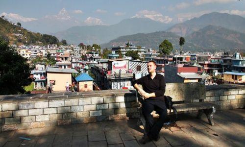 Zdjęcie NEPAL / Kaski / POKHARA / Pokhara i Machhapuchhare