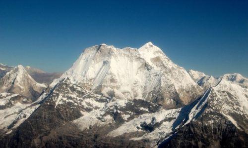 NEPAL / Himalaje / Melungtse / Melungtse