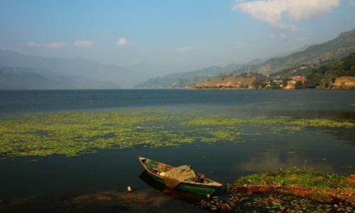 Zdjęcie NEPAL / Kaski / POKHARA / Jezioro Phewa