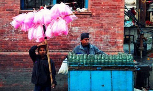Zdjęcie NEPAL / Kathmandu Valley / Katmandu / Wata cukrowa