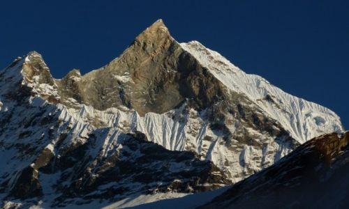 Zdjęcie NEPAL / Annapurna / Annapurna Base Camp /  Góra  Machhapuchhre