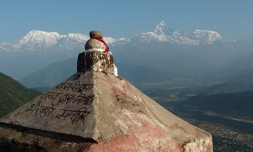 Zdjęcie NEPAL / Pokhara / Sarangot / Annapurna