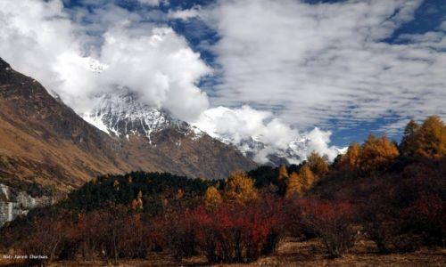 Zdjecie NEPAL / Manaslu / okolice Lho / nepalska jesień