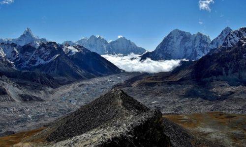 NEPAL / Himalaje, Sagarmatha Himal (Mt. Everest) / Kala Pattar / Lodowiec Khumbu