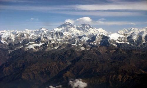 Zdjecie NEPAL / - / Himalaje / Z wędrówek po górach: Jej Wysokośc Czomolungma