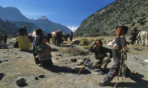 Zdjecie NEPAL / brak / Szlak wokół Annapurny / Koczownicy w dolinie Kali Gandaki