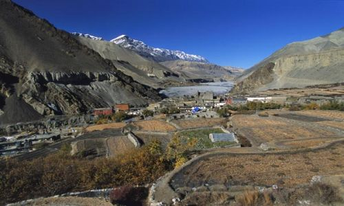 Zdjecie NEPAL / brak / Szlak wokół Annapurny / Wioska Kagbeni