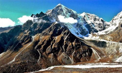Zdjecie NEPAL / Himalaje, Sagarmatha Himal / Taboche Peak / Moja kozica, czyli tukan