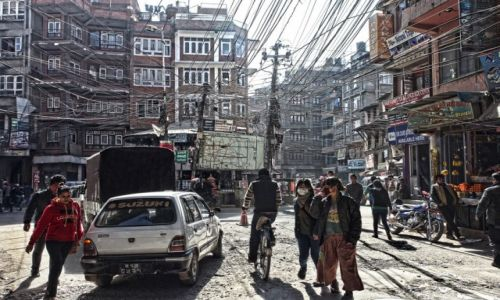 Zdjecie NEPAL / Katmandu / Ulica / Ulica w Katmandu