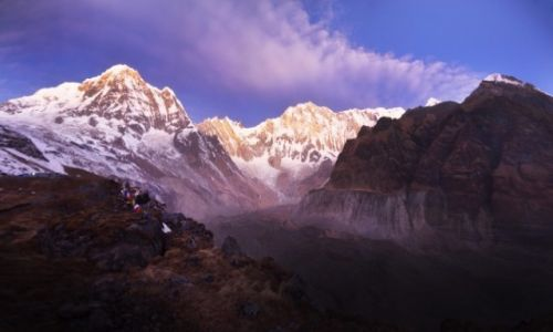 NEPAL / Centralny Nepal  / Annapurna Region / ABC