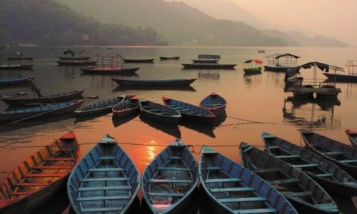 Zdjęcie NEPAL / Western Development Region / Pokhara / Phewa Tal.