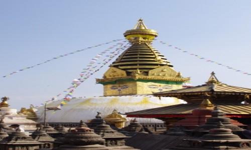 Zdjęcie NEPAL / Kathmandu / Swayambunath / Swayambunath - Świątynia Małp - w 2013 roku