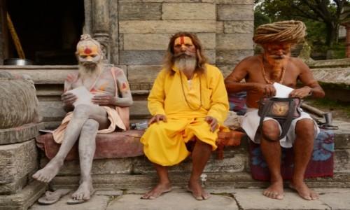 Zdjecie NEPAL / Dolina Kathmandu / Kathmandu, Paśupatinath / Tacy byliśmy!