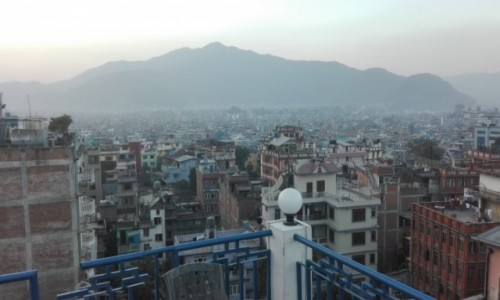 Zdjecie NEPAL / Azja / Kathmandu / Panorama miasta