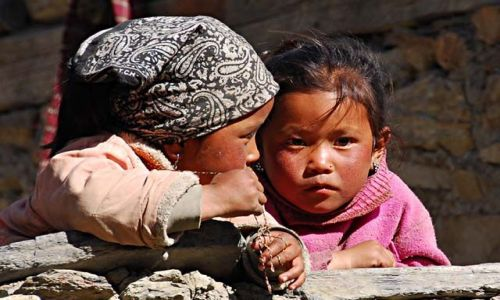 Zdjecie NEPAL / Himalaje / Manang 3540mnpm / Sekret