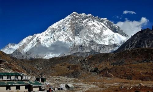 Zdjecie NEPAL / Sagarmatha Himal (Mt. Everest) / osada Lobuche (Lobuje) 4940 m / Nuptse