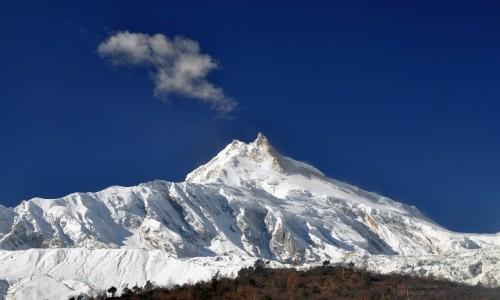 Zdjecie NEPAL / Manaslu / Samagaon / Manaslu peak