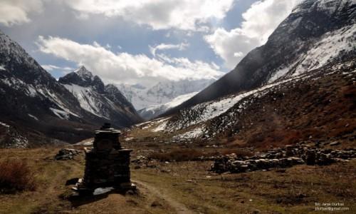 Zdjecie NEPAL / Manaslu / Samdo / Manaslu treking