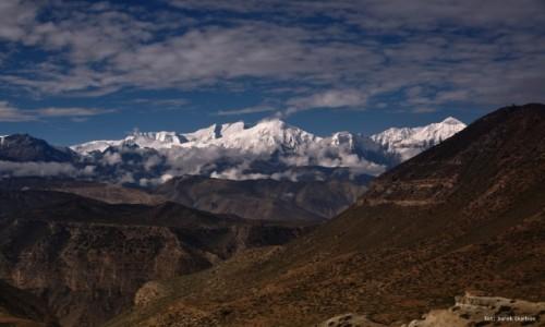 Zdjecie NEPAL / Mustang / z trekkingu / Nilgiri i Annapurna