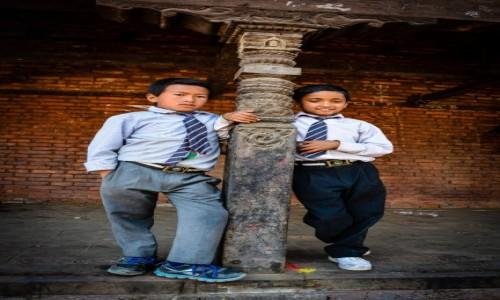 NEPAL / Katmandu / Bhaktapur / na wagarach