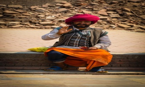Zdjęcie NEPAL / Kathmandu / Kathmandu / Namaste...