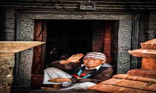 Zdjęcie NEPAL / Kathmandu / Kathmandu / Namaste 2