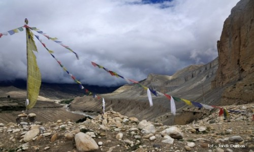 NEPAL / Mustang / okolice Tsarang / prze��cz