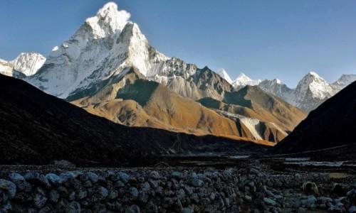 NEPAL / Sagarmatha Himal / Pheriche / Ama Dablam