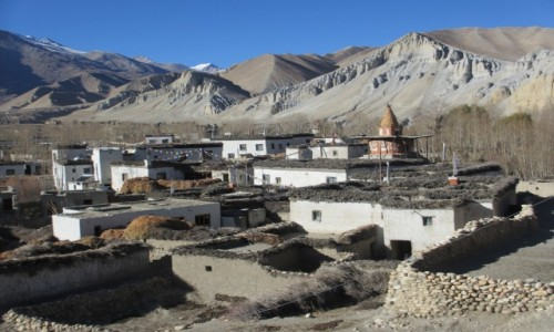 Zdjecie NEPAL / Upper Mustang / Chele / Mustang-dach św