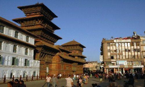 NEPAL / Kathmandu / Durbar Square / Durbar Square w Kathmandu