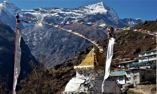 NEPAL / Himalaje (Solukhumbu) / Namcze Bazar / Kongde Ri