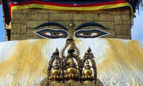 NEPAL / Kathmandu / Kathmandu / Świątynia Buddyjska