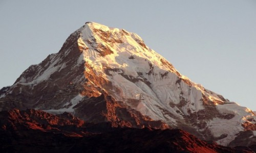 Zdjecie NEPAL / Annapurna Circuit  / Poon Hill - widok o świcie / Annapurna South