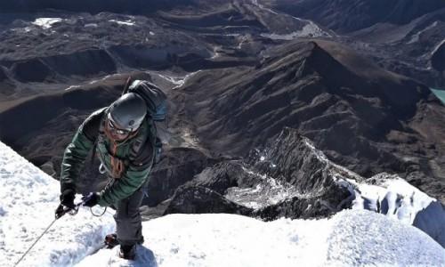 NEPAL / Himalaje, rejon Khumbu Glacier / Lobuche East / I finito!