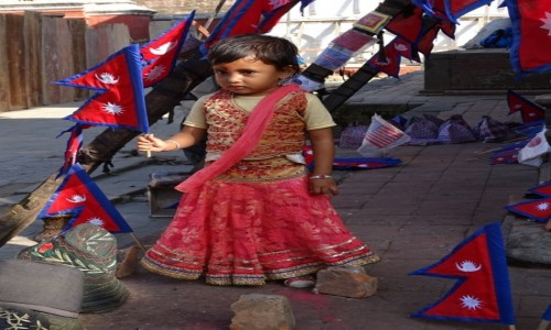NEPAL / Dolina Katmandu / Katmandu / Symbolicznie