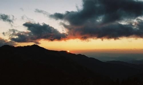 Zdjęcie NEPAL / masyw Annapurny / Poon Hill / wschód słońca - widok z Poon Hill
