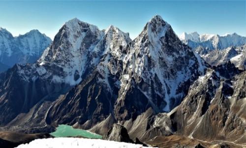 Zdjęcie NEPAL / Himalaje, rejon Khumbu Glacier / Lobuche East / Kolosy