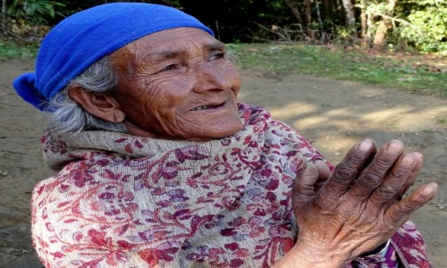 Zdjęcie NEPAL /  Dhaulagiri Zone / okolice Ghorepani / Himalajska góralka