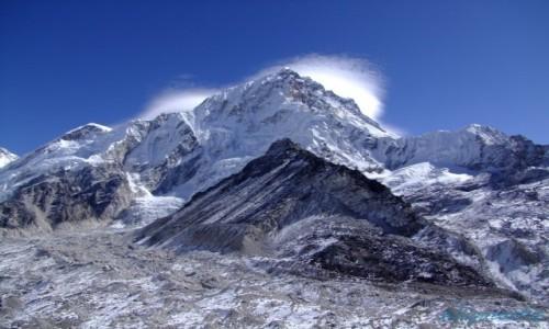 Zdjecie NEPAL / Solukhumbu / Khumbu / Lodowiec Khumbu