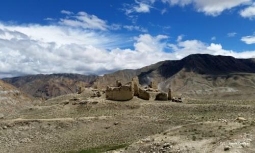 Zdjecie NEPAL / Mustang / Lo Mantang / ruiny